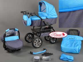 Kinderwagen BAVARIO multifunctional